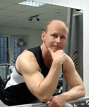 Виктор Трибунский - персональный фитнес-тренер, редактор, переводчик, писатель.